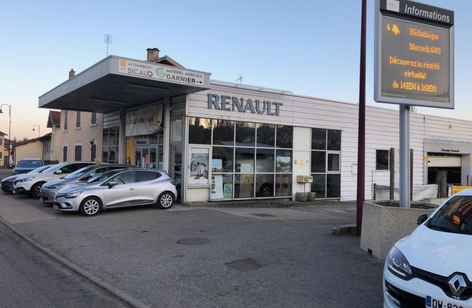 Garage renault 38110 renault d pannage 38110 occasions for Garage renault promotion pneus